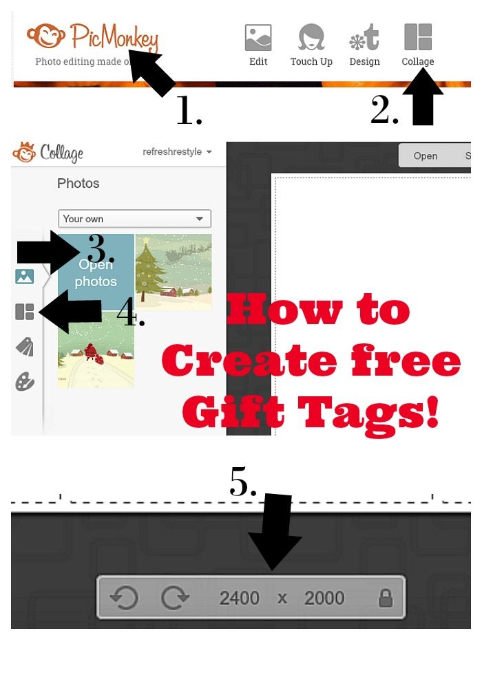 How to create free gift tags with GraphicStock