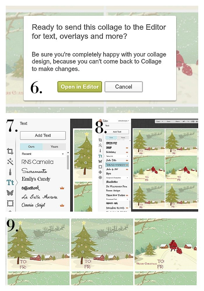 How to create gift tags in picmonkey with graphicstock photos