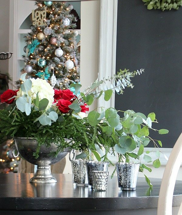 Kitchen table Christmas at Refresh Restyle