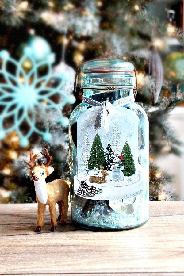 mason jar filled christmas gift idea in a mason jar