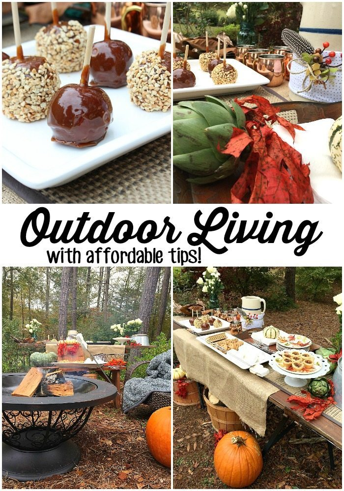 Outdoor Living with affordable tips from @bhglivebetter #bhglivebetter