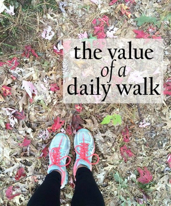 The Value of A Daily Walk
