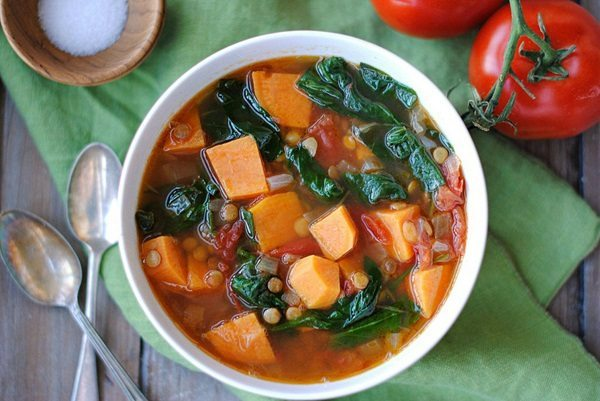11 - Eat Yourself Skinny - Sweet Potato and Lentil Soup