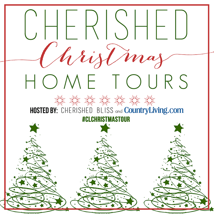 Cherished Bliss and Country Living Christmas Home Tour