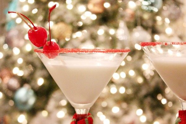 Cheers for 2 cherries with a Very Merry Martini at Refresh Restyle