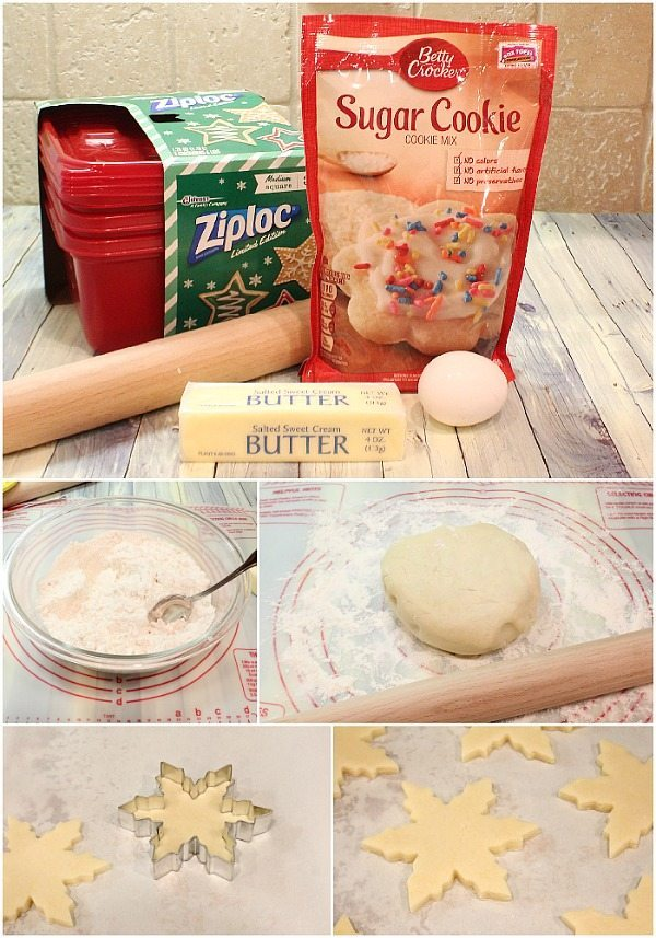 Christmas cookies easy to make and decorate for gifts or fun with the kids