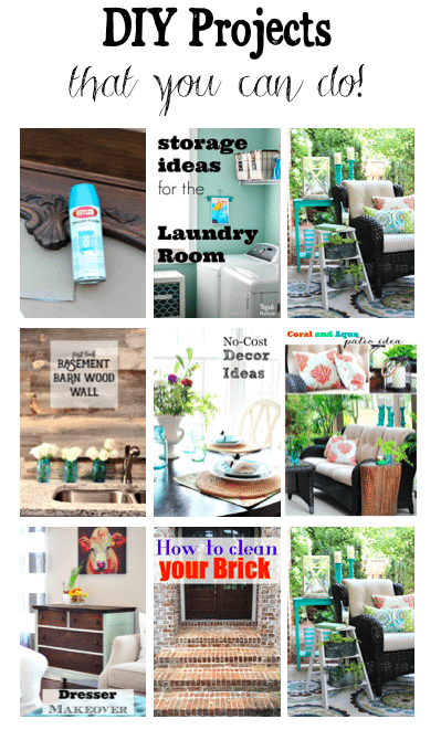Refresh Restyle DIY Projects that you can do