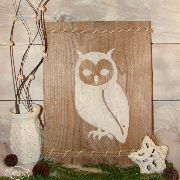Inspiration Monday idea for a Winter-Owl