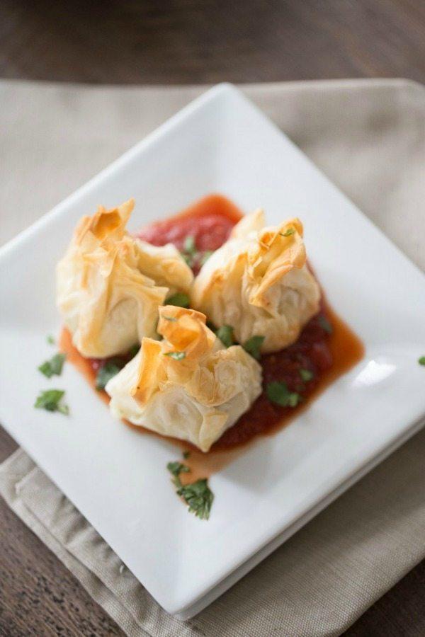 Inspiration Monday recipe for Chicken-Parmesan-Meatballs