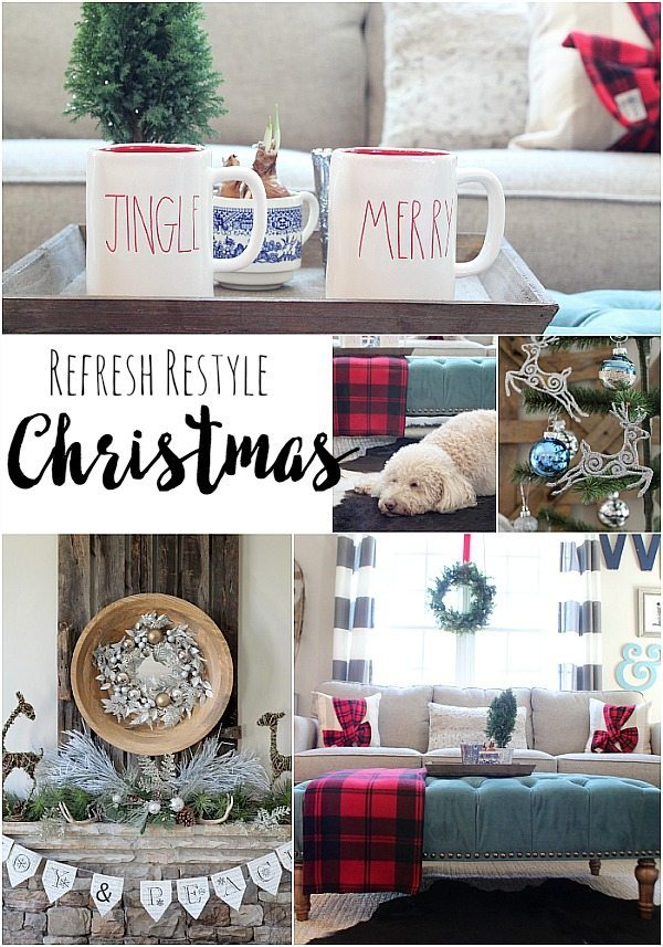 red turquoise christmas ideas at refresh restyle