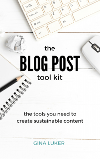 The Blog Post Tool Kit
