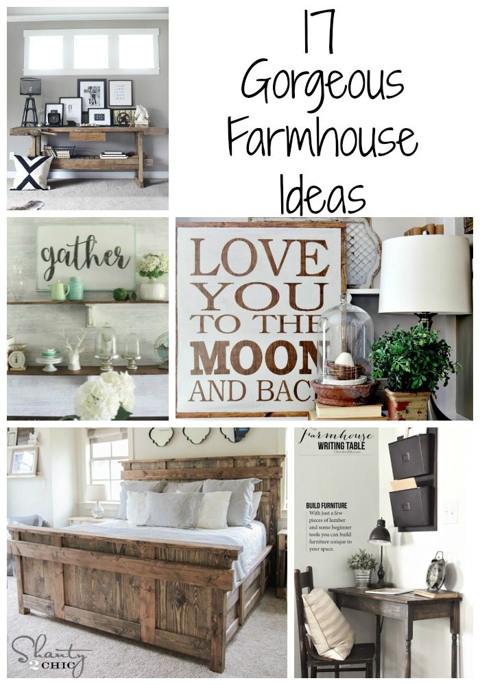Rustic painted furniture - 17 Gorgeous Farmhouse Projects Refresh Restyle