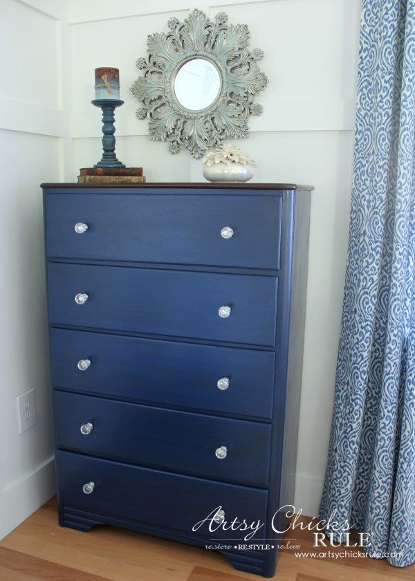 Coastal-Corinth-Blue-Milk-Paint-Makeover-w-Java-Gel-Top-LOVE-this-blue-blend-generalfinishes-milkpaint from artsychicksrule.com_