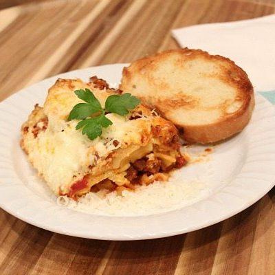Slow Cooker – Crock Pot Lasagna Recipe