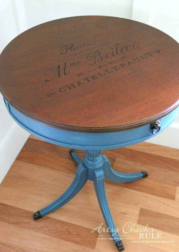 French-Table-Makeover-French-Graphics from artsychicksrule