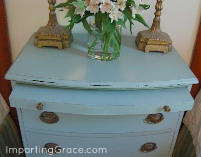 Homemade Chalk Paint with Imparting Grace