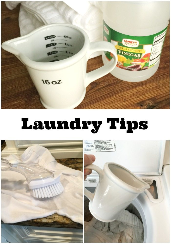 Laundry Vinegar tips at refreshrestyle.com