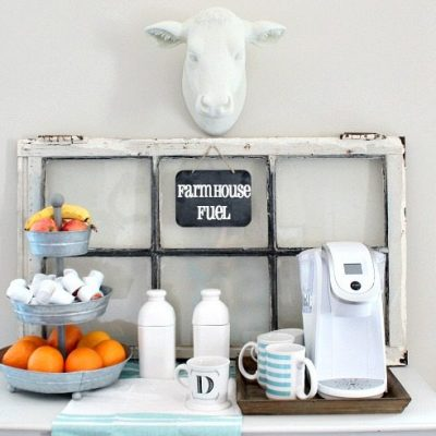 Coffee Station – Farmhouse Style