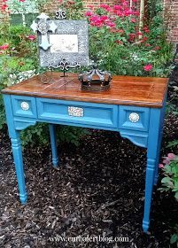 Sewing Desk Makeover from Curb Alert