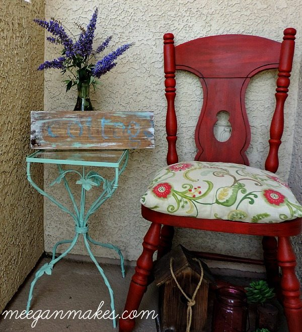 Small-Table-Makeover-using-Fusion-Mineral-Paint from What Meegan Makes