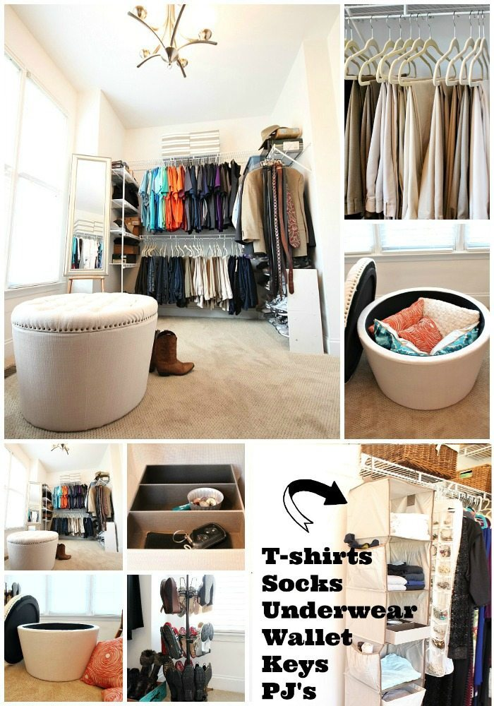 Start where you're most frustrated - closet organization idea with Better Homes and Gardens from Walmart at Refresh Restyle