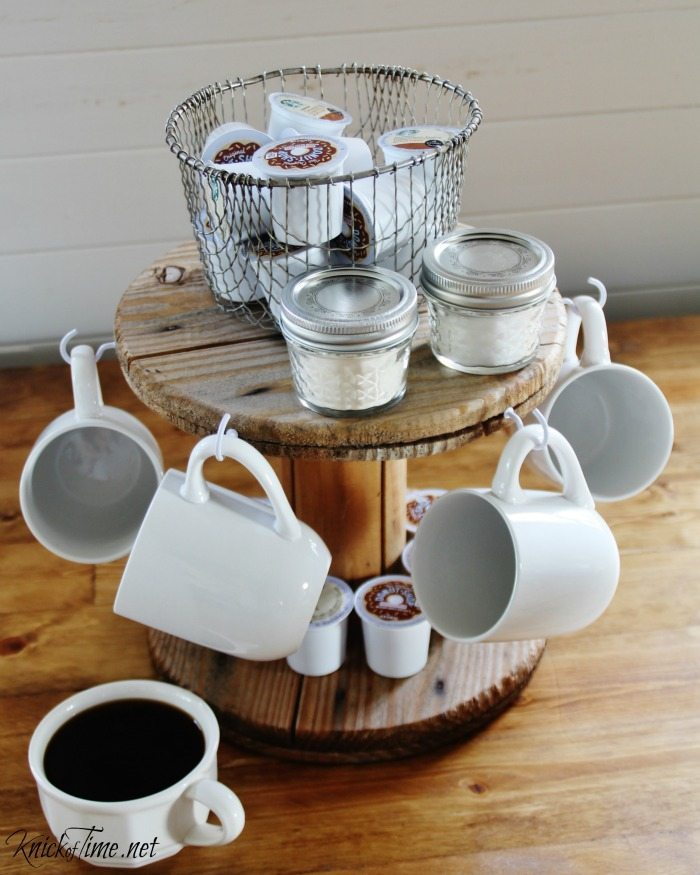 Gorgeous Farmhouse Projects - coffee-bar