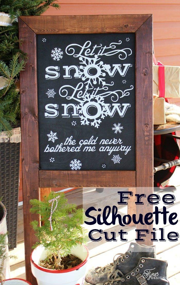 let-it-snow-chalkboard