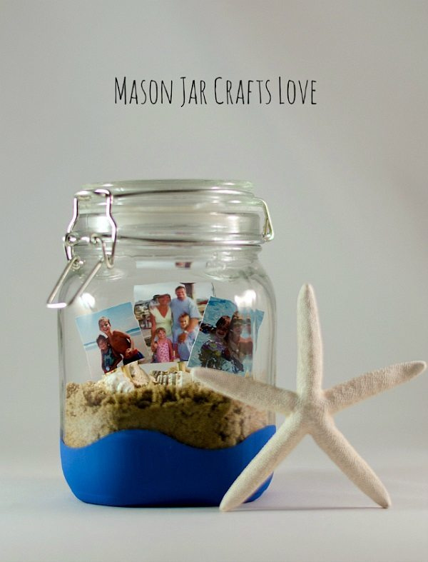 04 - Mason Jar Crafts Love - Vacation Memory Jar