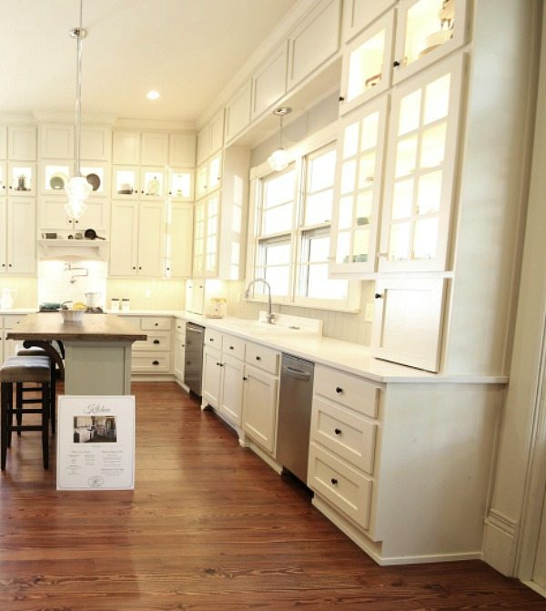 Cabinets galore at Southern Romance Phantom Screen Idea Home in Mobile Al
