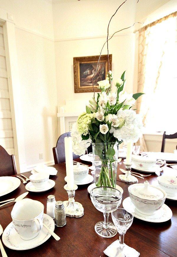 Dining splendor at Southern Romance Phantom Screen Idea Home in Mobile Al