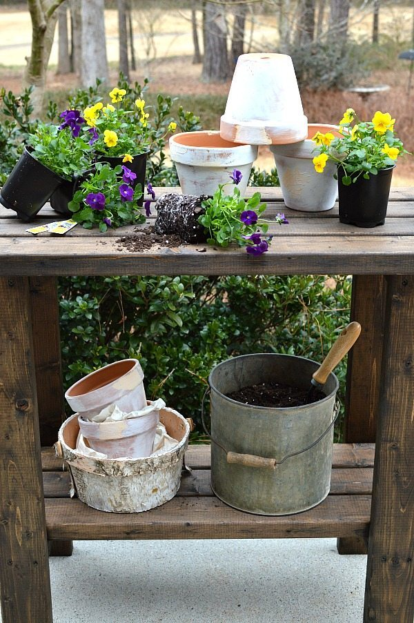 Free potting bench plans build it today!