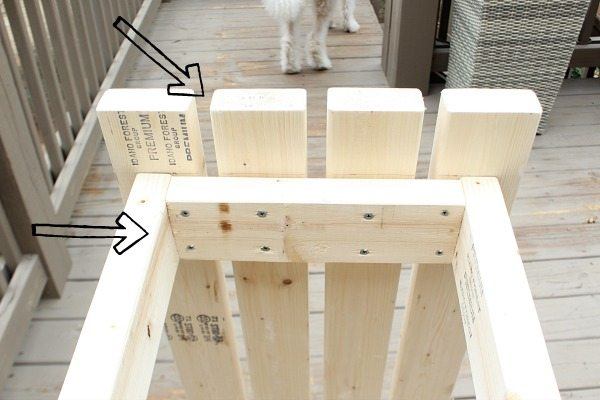 How to build 2 x 4 potting table