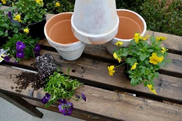 How to build a potting bench in one afternoon