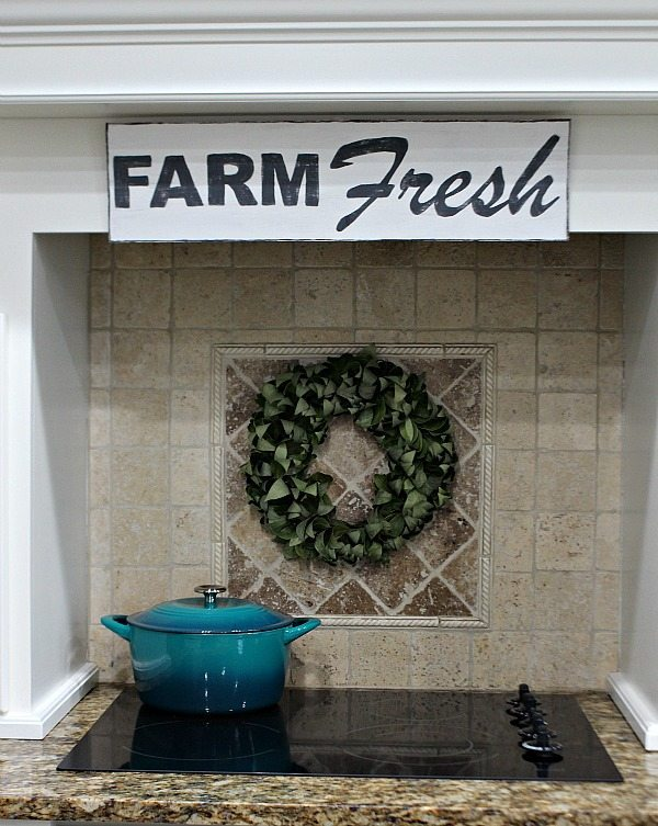 How to make a vintage looking Farm Fresh sign