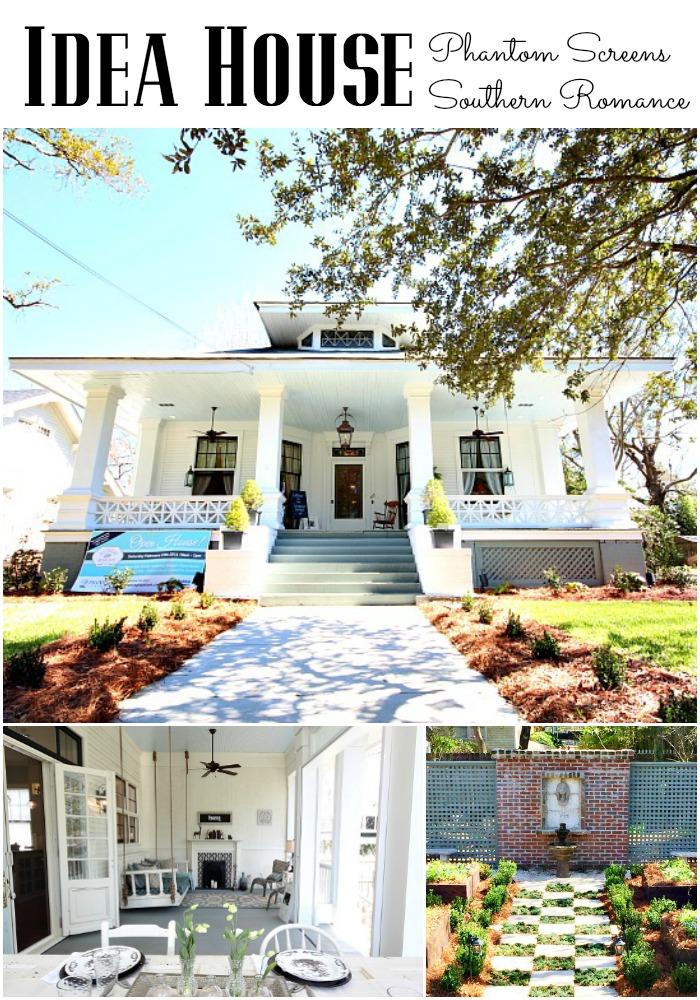 Idea house at Southern Romance Phantom Screen Idea Home in Mobile Al