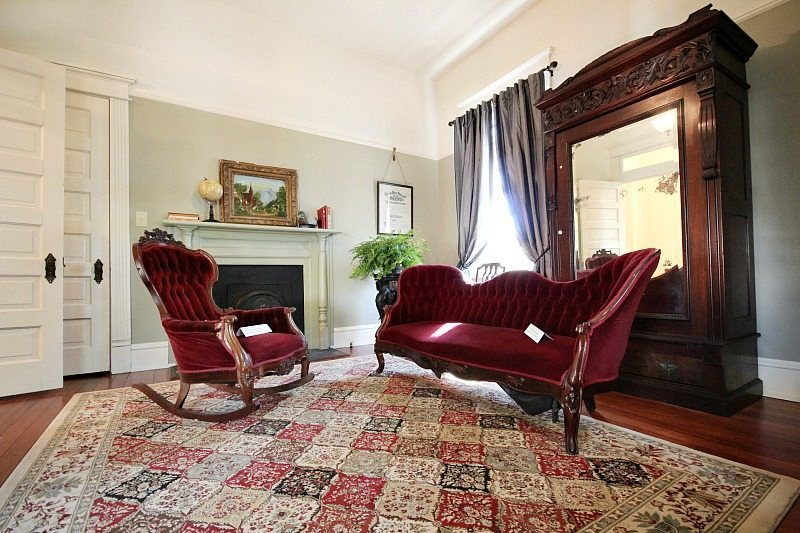 Just like it was Gentleman's parlor at Southern Romance Phantom Screen Idea Home in Mobile Al
