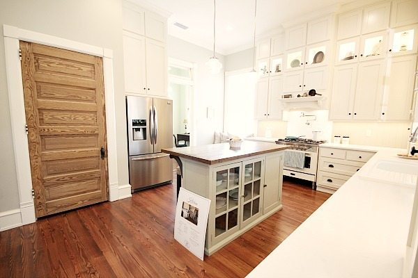 Kitchen at Southern Romance Phantom Screen Idea Home in Mobile Al