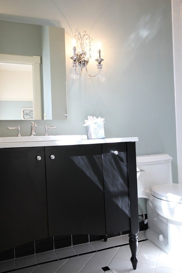 Master Vanity at Southern Romance Phantom Screen Idea Home in Mobile Al