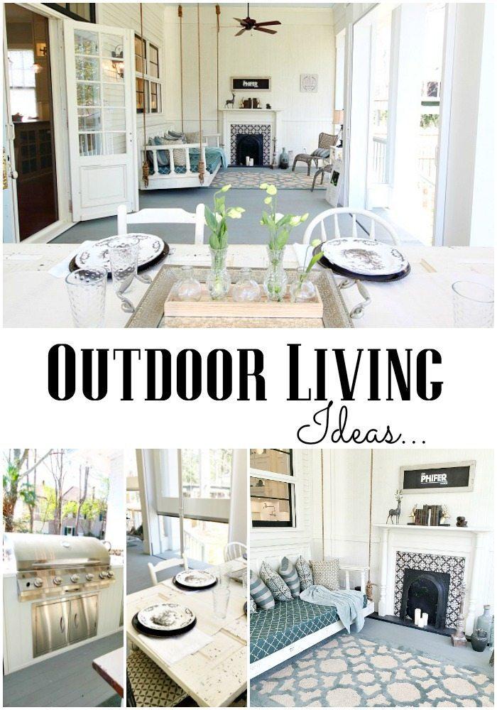 Outdoor Living Phantom Screens Southern Romance Idea Home | Refresh ...
