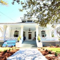 Southern Romance Phantom Screens Idea home in Mobile Al