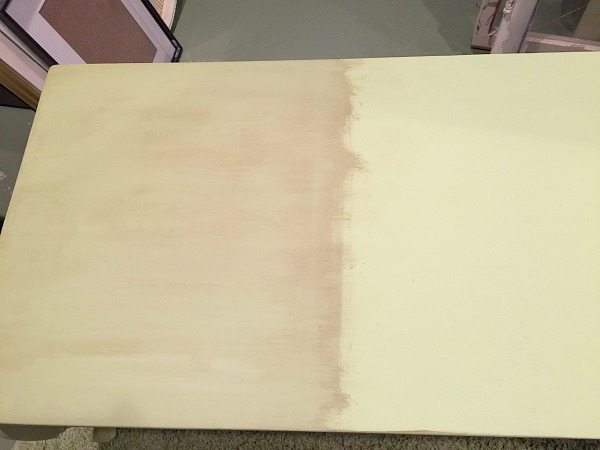 Using dark wax on a light color for a refreshing makeover at Refresh Restyle