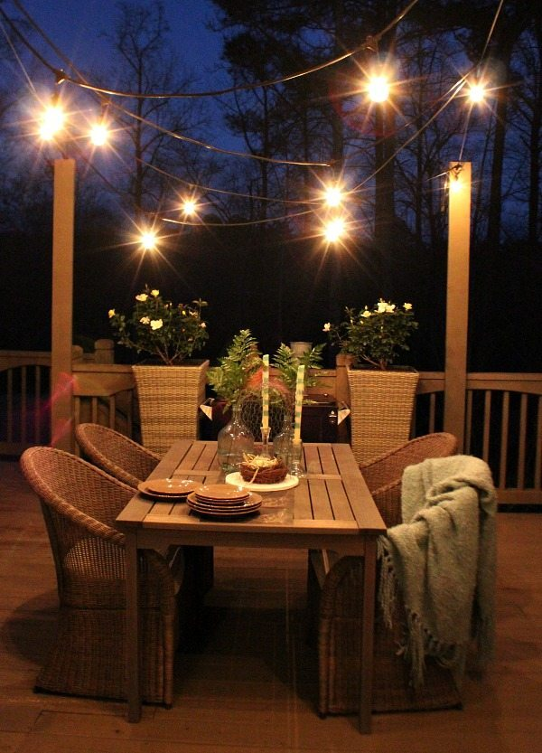 Deck Refresh Restyle spring home tour