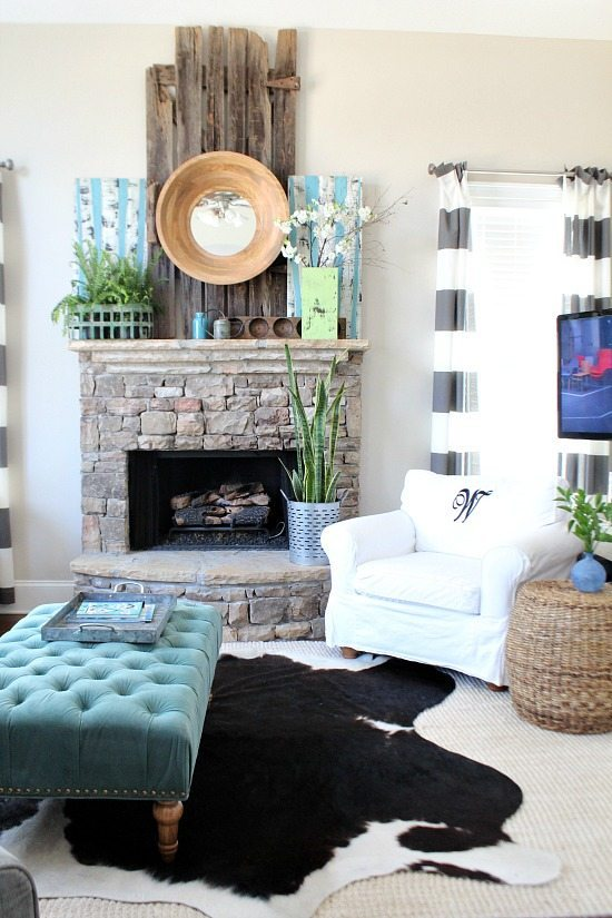Den Refresh Restyle spring home tour