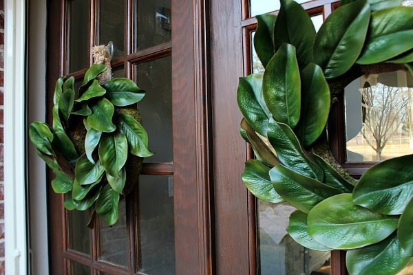 How To Make A Magnolia Wreath Refresh Restyle
