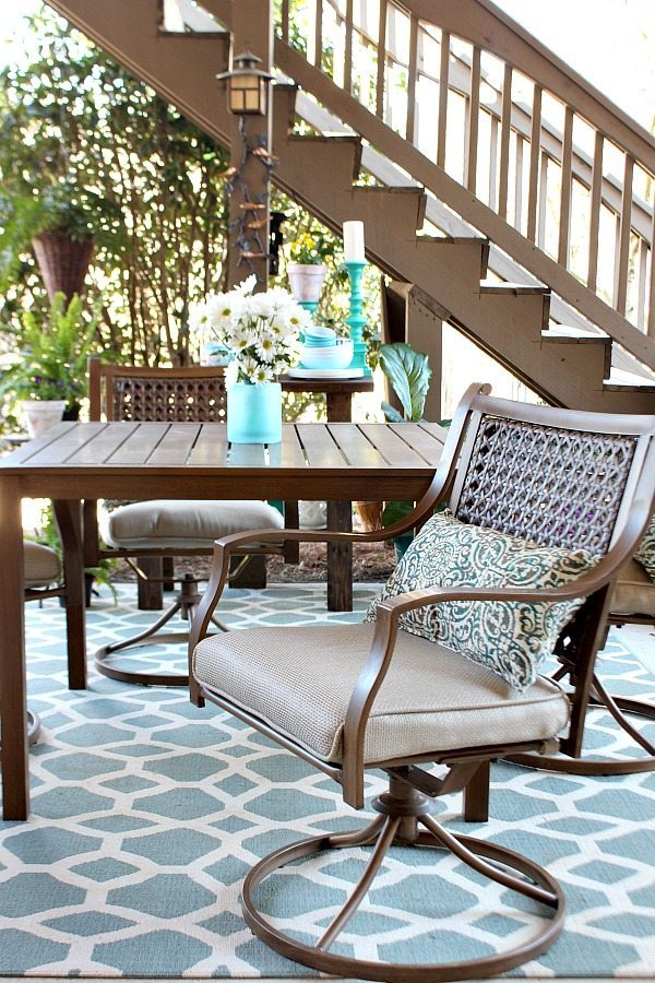 Outdoor Living - Fresh for the patio season - Outdoor Patio Refresh - Spring is here and so is entertaining season. We love spending time outside