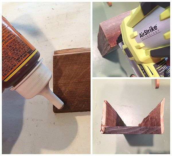 How to make a planter box with Gorilla Glue Ryobi Airstrike and Barn wood