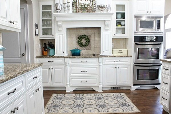 Kitchen Refresh Restyle spring home tour