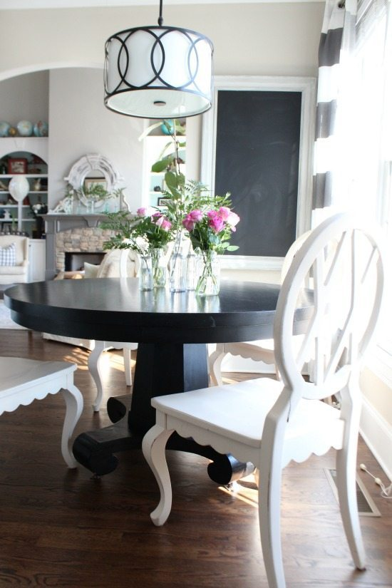 Kitchen dining Refresh Restyle spring home tour