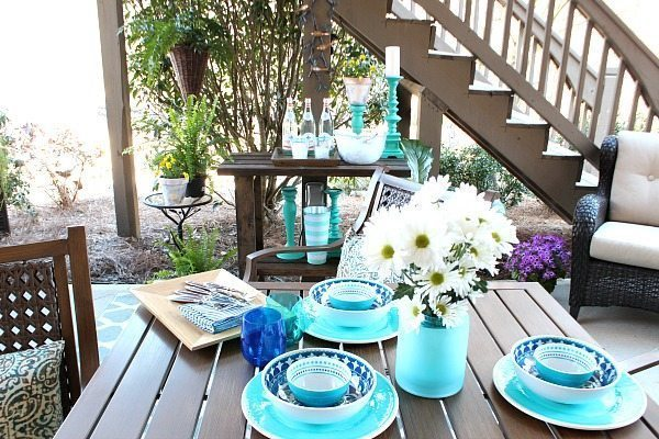 Spring fresh patio - Outdoor Patio Refresh - Spring is here and so is entertaining season. We love spending time outside - Spring and Summer Outdoor Living