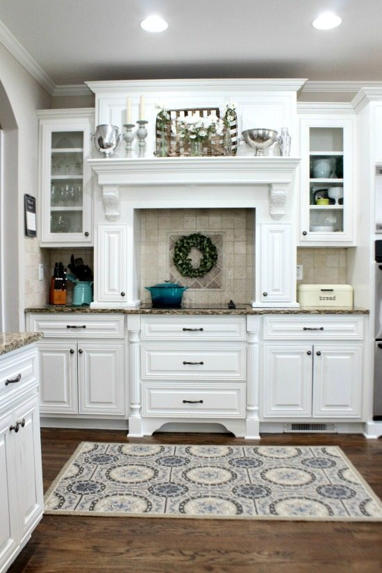 spring kitchen Refresh Restyle spring home tour